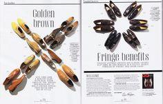 gq magazine - shoes - still life editorial