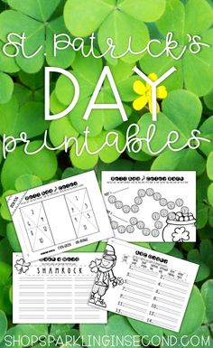 St. Patrick's Day activities and printable for the primary classroom!