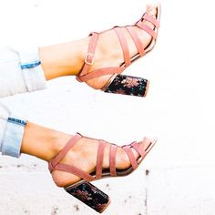 Embroidered Heels | 2 Colors!