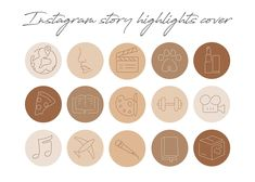 Insta Instagram, Instagram Highlight Icons, Story Highlights, Instagram Story Ideas, Nude Color, Aesthetic Backgrounds, Aesthetic Art, Spice Things Up, Clip Art