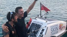 Jude Massey became the youngest person to row across an ocean in a team of two after completing the trip. Anthropology, A Team, The Row, Ocean, Anthropologie, The Ocean, Sea
