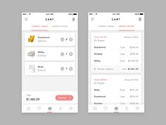 Furniture Shop App - Cart