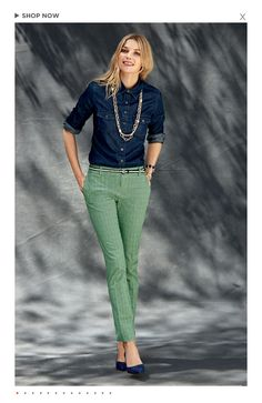 Banana Republic fall 2013 - camden pant