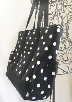 Large Tote Bag with Pockets, Kitchen Sink Tote, Professional Tote ...