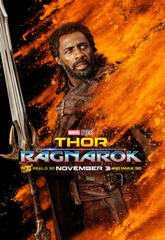 Thor: Ragnarok Abunch of colorful character posters have hit the web. Head over to the link see the rest. [Coming Soon]