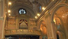 L'orgue Serassi et la tribune