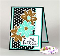 Stampin Up Petal Potpourri for Freshly Made Sketches, card by Sandi @ www.stampingwithsandi.com