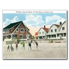 Fairfield Beach Connecticut CT Postcards #Postcards #Fairfield #Connecticut