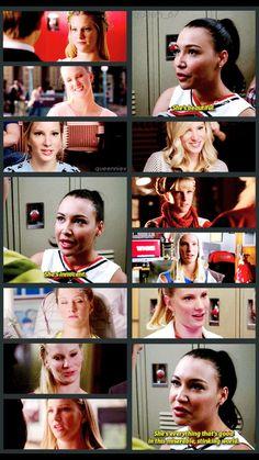 Britney and Santana