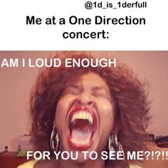 hahaha 'if i'm louder, would you see me'. soo doing this.