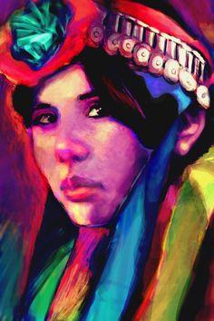 Mapuche by Rinaldi-Pin-Up on deviantART