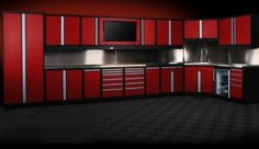 We design and build metal cabinets for the new garage. Baldhead Cabinets is a full-service and family-owned company in Bend, Oregon.