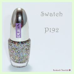 Degradé en rosas con Glitter Holo de Pupa - Nail Art   Swatch
