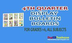 Display Bulletin Boards for Grades Quarter English Bulletin Boards, Teacher Bulletin Boards, 1st Grade Math, Grade 1, Kindergarten Lesson Plans, Display, How To Plan, Ph, First Grade Math