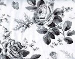 Toile Floral Fabric by Timeless Treasures Fabrics, Toile Quilt Fabric