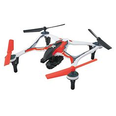 Dromida XL First Person View Ready-to-Fly 370mm Radio Control Drone with 1080p HD Camera (Red) >>> You can get more details by clicking on the image.