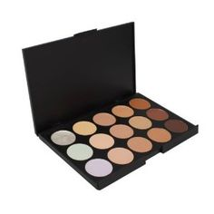 Amazon.com: Professional 15 Color Concealer Camouflage Makeup Palette: Beauty Disclosure: Affiliate Link
