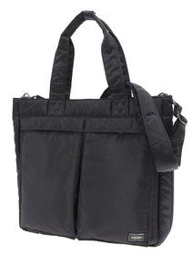 View the Tanker 2 Way Tote Bag - Black online at Kafka