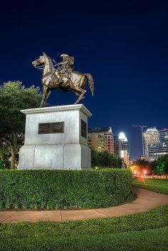 "on the grounds of the Texas State Capitol stands this Monument to ""Terry's Texas Rangers"""