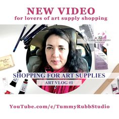 Last week my friend Tracy and I went to an art supply store here in Houston. We had a lot of fun and found quite a few things we liked. We didn't buy all of them (that would be just way too much for our bank accounts) but we did make a few neat purchases. Check out my first vlog style video about this local trip. Do you like shopping for art supplies? . . . . #watercolorpainting #watercolortechniques #howtopaintwithwatercolours #danielsmithwatercolor #watercolorsketch #artvlog #danielsmith#artha Watercolor Sketch, Watercolor Paintings, Art Supply Stores, Figure Sketching, Watercolor Techniques, Art School, Art Supplies, Houston, Studio