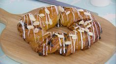 This apricot couronne recipe appears as the technical challenge in the Sweet Dough episode of Season 2 of The Great British Baking Show on PBS Food..