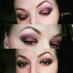 Red and Black makeup ❤ @rvatuksu instagram