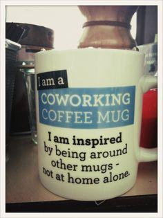 Buenos días! empezamos el lunes con un buen café y qué mejor que en esta taza #Coworking Coffee Mug @sektorfuenf
