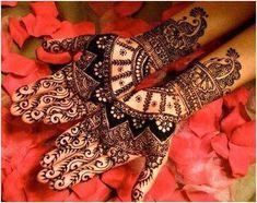 Wedding mehendi.. without mehendi wedding was not completed.