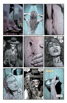 Comic Del Joker, Batman Comic Art, Joker Art, 3 Jokers, Three Jokers, Nightwing, Batgirl, Action Comics, Black And White Comics