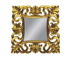 Miroir aurélie polyuréthane et métal