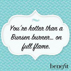 Another little #BeautyBoost from our friends @BenefitBeauty! www.santiandquinn.com