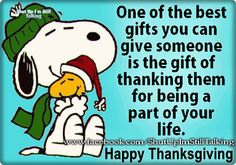 Thanksgiving , Christmas, Valentines Day... Be thankful year round