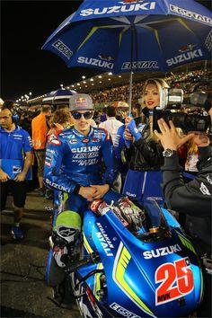 Maverick Vinales MotoGP. Teammate of Valentino Rossi in 2017!