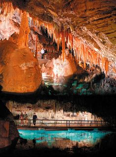 Bermuda's Crystal Caves are an stunning site with crystal clear lagoons and beautiful formations. Pin provided by Elbow Beach, Bermuda. Elbow Beach Bermuda would be a good stopping place after Ireland Bermuda Vacations, Vacation Destinations, Dream Vacations, Vacation Spots, Caribbean Vacations, Oh The Places You'll Go, Places To Travel, Places To Visit, Beautiful Islands