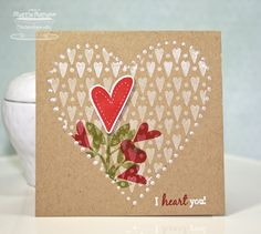 I Heart You! by BC Sherrie - Cards and Paper Crafts at Splitcoaststampers