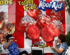 Deep Fried Kool-Aid Balls
