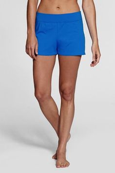 Swim shorts, $14.99 from Land's End.