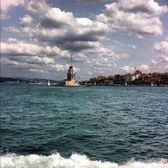 TODAY,USKUDAR MAIDEN'S TOWER & KIZ KULESİ,HAPPY SATURDAY, ÜSKÜDAR ISTANBUL TURKEY