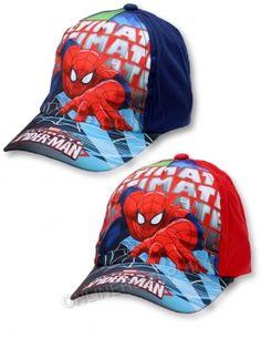Czapka Dziecięca Spiderman 32574 _A12  (52-54)