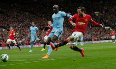 Mata scores. Manchester United v Manchester City
