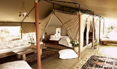 Naibor Camp (Kenya) veranda