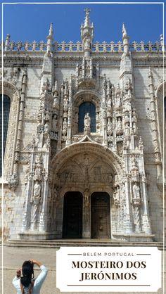 Nossa viagem para Belém em Portugal, onde visitamos o Mosteiro dos Jerónimos e também a Torre de Belém, o Padrão dos Descobrimentos e comemos muito Pastel de Belém.