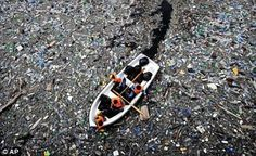 Ocean plastic.  People tend to like to go about their lives not thinking about this or pretending it doesn't exist.  It does.  Gyres the size of TX are only getting bigger.