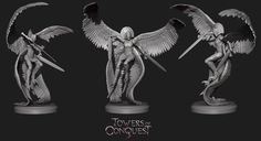 Towers of Conquest Sculpts for a up coming Table top game. All the sculpts above range from 30-80mm in height. Hope you all like them :) and maybe Ill have the chance to update this page with the actual minis soon enough