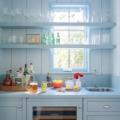 Favorite Rooms of 2016: East Hampton Wet Bar, from the July/August issue