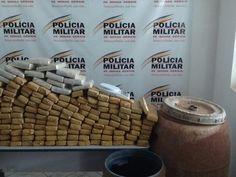 Suspeito de enterrar 100 quilos de maconha em chácara é preso no Leste de MG