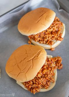 Cheap Sloppy Joes Chicken Sloppy Joe Recipe, Sloppy Joes Recipe, Healthy Food, Healthy Eating, Healthy Recipes, Meal Ideas, Dinner Ideas, Ground Chicken Recipes