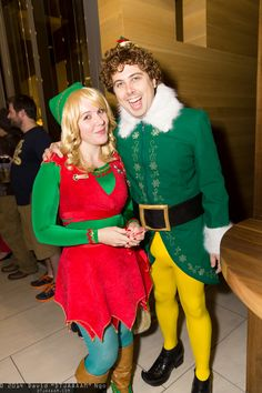 Jovie and Buddy the Elf | Dragon Con 2014 #DTJAAAM