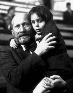Janusz Korczak 1878 - 1942. Educator, children's author, and pediatrician known as Pan Doktor (Mr Doctor) or Stary Doktor (Old Doctor). After spending many years working as director of an orphanage in Warsaw, he repeatedly refused freedom and stayed with his orphans right up to the end.