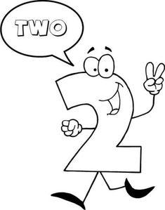 El Número 2 Se Dice DOS Dibujo para colorear. Categorías: Números de Dibujos Animados en Inglés 0-10. Páginas para imprimir y colorear gratis de una gran variedad de temas, que puedes imprimir y colorear.
